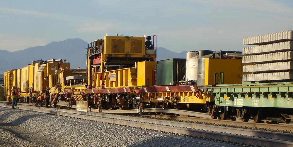 TRT-909 Track Renewal System